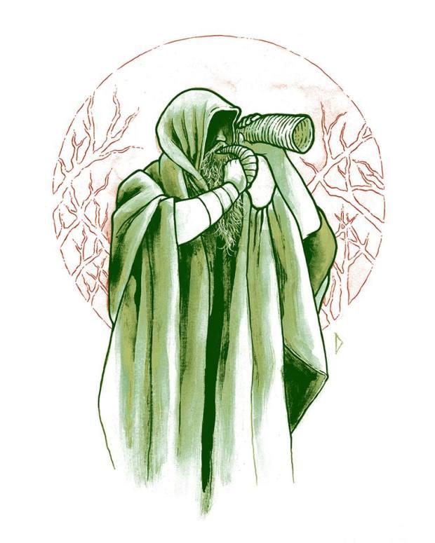 Dave Mahan druid