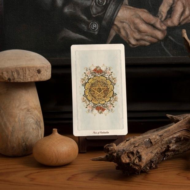 pentacles card